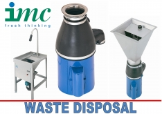 WASTE DISPOSAL UNITS by IMC - K.F.Bartlett LtdCatering equipment, refrigeration & air-conditioning